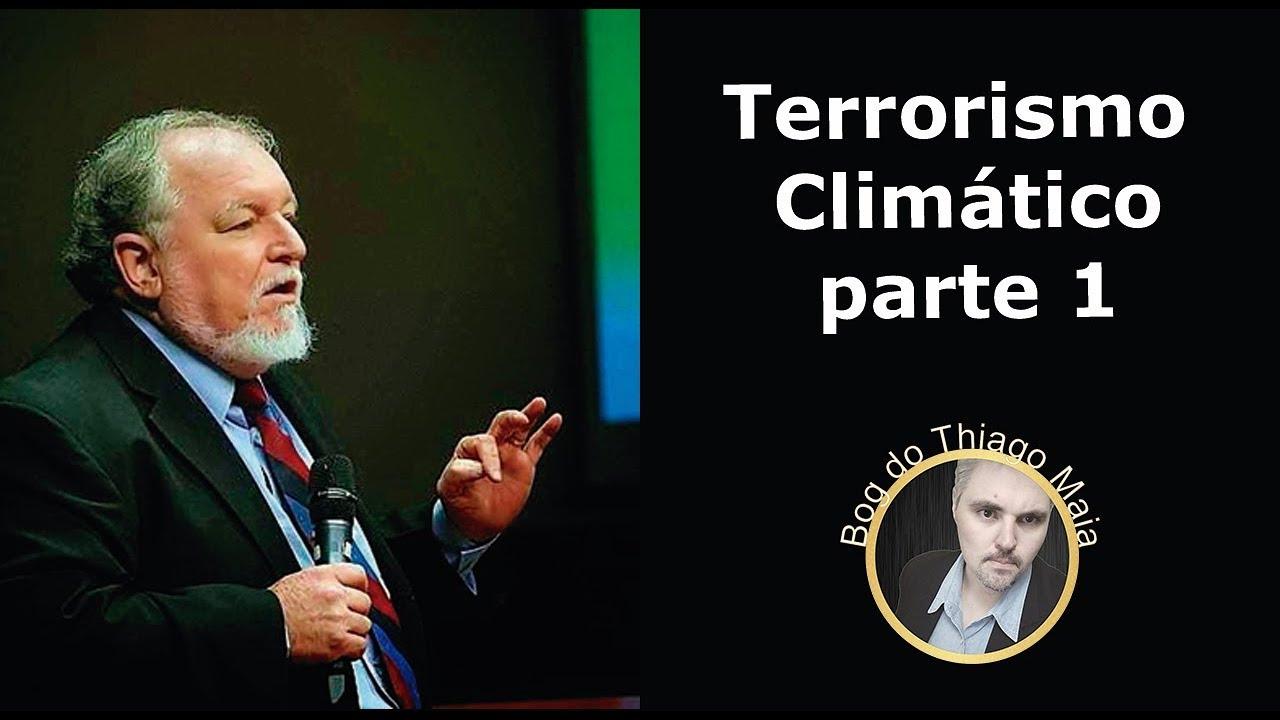 Terrorismo climático - Palestra do Prof Luiz Carlos Molion - Parte 1