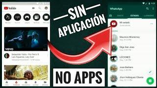 Colocar Un Vídeo De YouTube En Estados WhatsApp | Plus Android