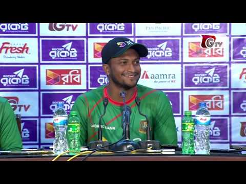 Press Conference after 1st Test match with Steven Smith, Shakib Al Hasan & Mushfiqur Rahim