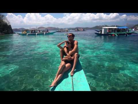 Lương Thế Thành ôm chặt, liên tục hôn Thúy Diễm khi du lịch Philippines