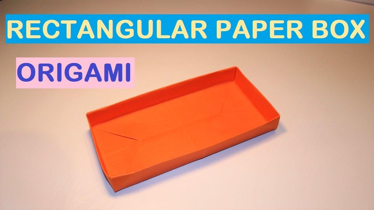 How to make a rectangular paper box
