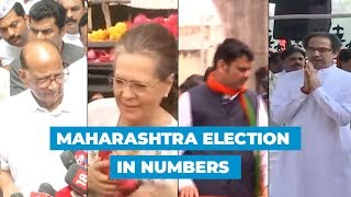 Watch: Maharashtra Assembly elections 2019 explained in numbers