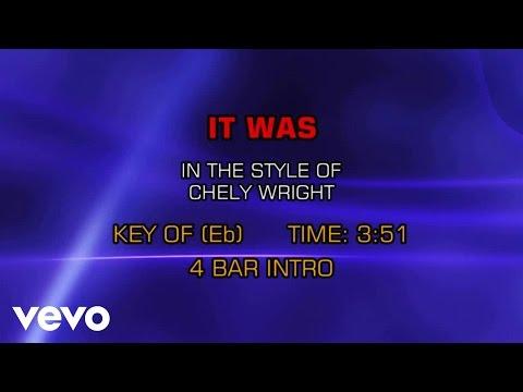 Chely Wright - It Was (Karaoke)