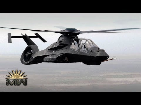 US STEALTH And ATTACK Helicopter ⚔️ Boeing-Sikorsky RAH-66 Comanche