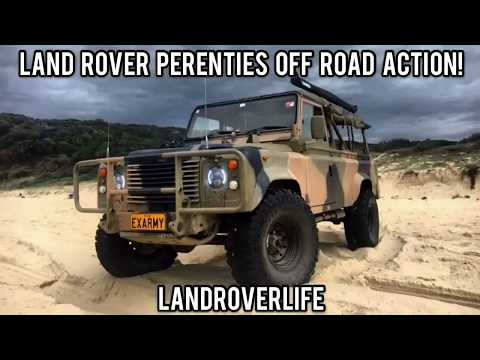 Land Rover Perenties Off Road