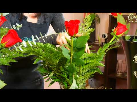 How To Make A Rose Arrangement | Watanabe Floral - Honolulu, Hawaii Florist Flower Shop