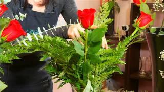 How To Make A Rose Arrangement | Watanabe Floral - Honolulu, Hawaii Florist Flower Shop