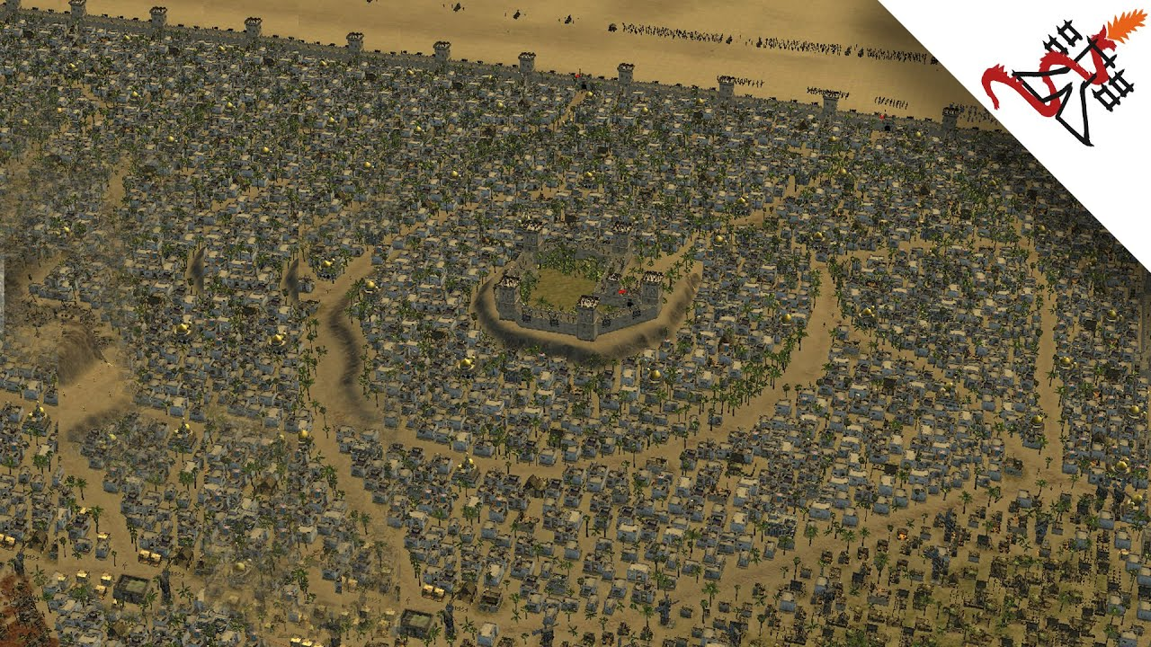 Extra large maps | stronghold crusader 2.