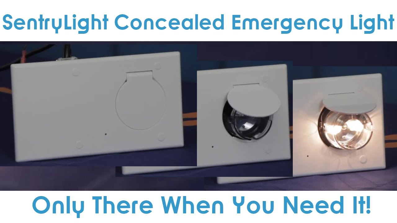 Goodmart S Concealed Emergency Light By
