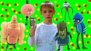 Распаковка игрушек Обычный Мультик Unpacking toys Regular Show