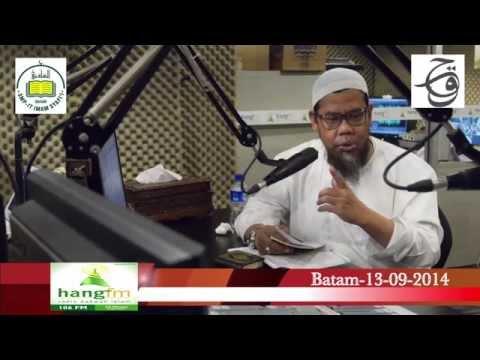 Talk show Menjelang Dauroh di PPIT Imam Syafi'i Nongsa Batam