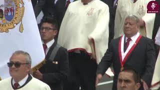 Tema: San Marcos presente en el Desfile de Fiestas Patrias