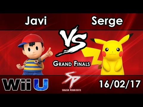 SP72 HY | Javi (Ness, Cloud) Vs. SF SC | Serge (Pikachu, Cloud) - Grand Finals - Smash 4
