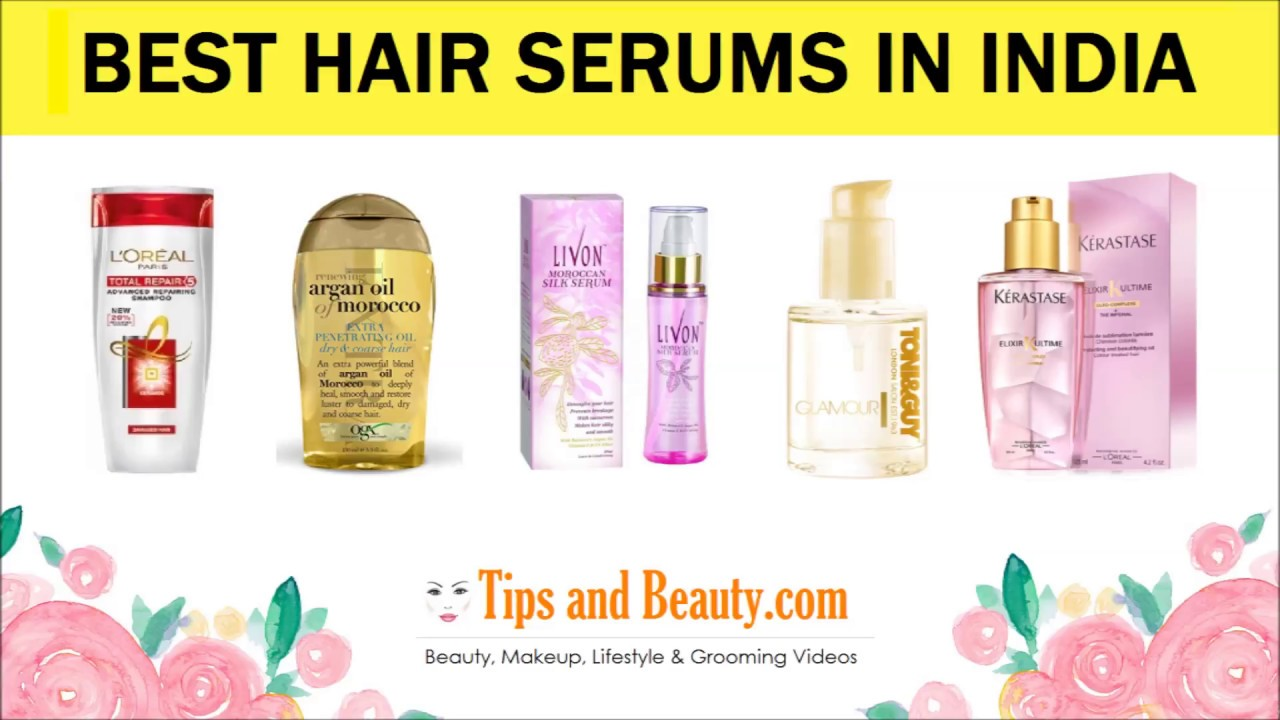 d239ef5251d 9 Best Hair Serums in India for Dry Frizzy and Rough Hair - YouTube