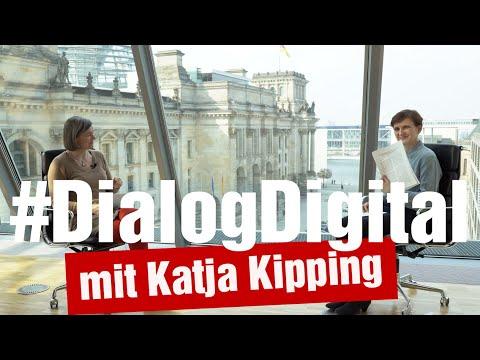 #DialogDigital mit Katja Kipping: Wandel der Arbeitswelt und gemeinwohlorientierte Digitalisierung
