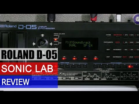 Sonic LAB: Roland Boutique D-05