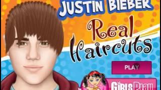 Justin Bieber Real Haircuts (Jogo de Cortar Cabelo do Justin Bieber)