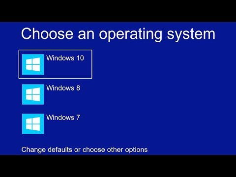 How To Disable Choose An Operating System At Start Up On Windows 10