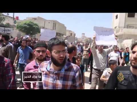 اقتتال جديد بين فصائل المعارضة بالغوطة الشرقية  - نشر قبل 2 ساعة