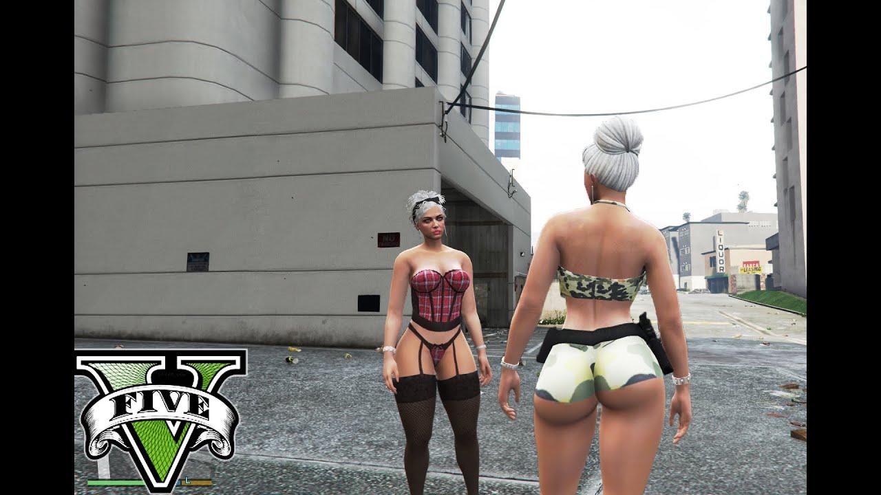 Mp Female New full body mod with breast physics - GTA5