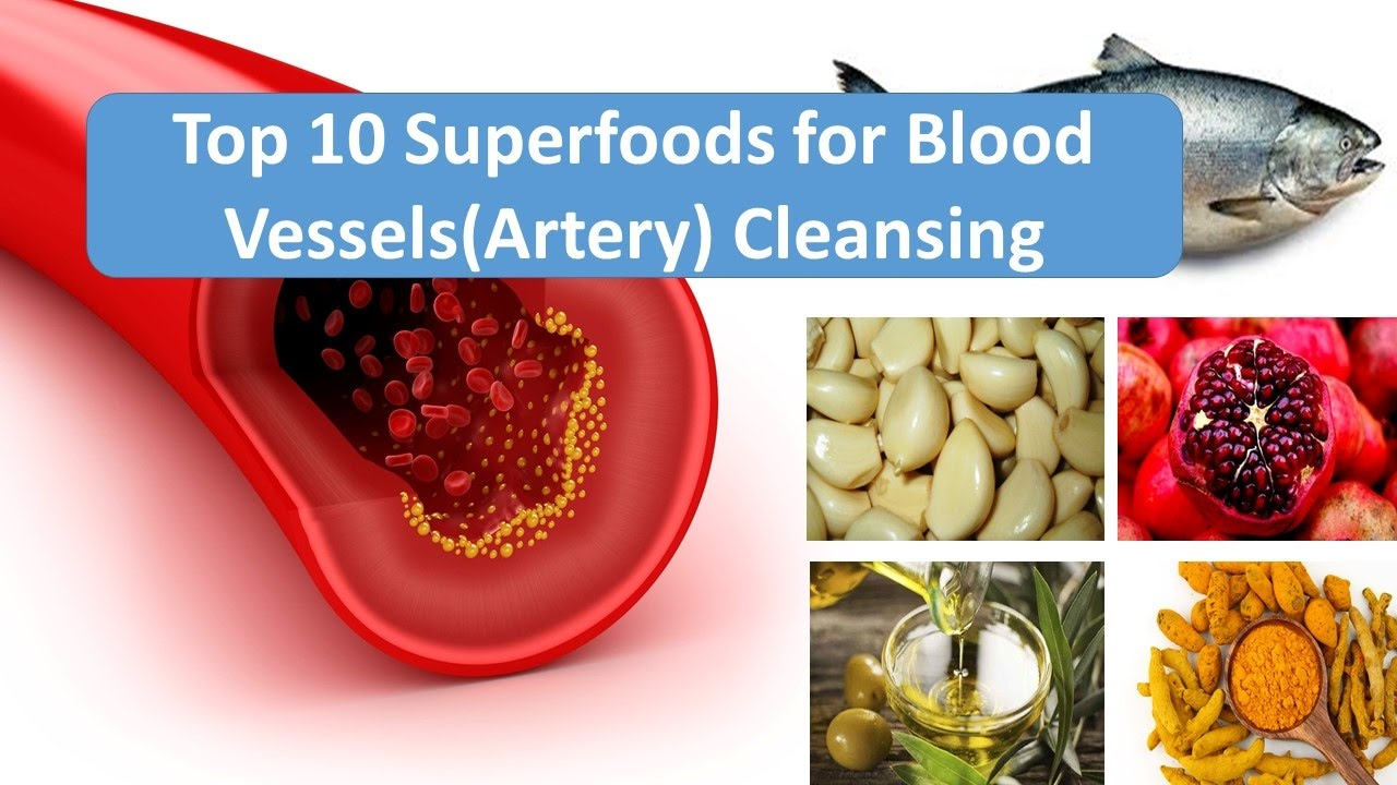 How to clean the blood vessels