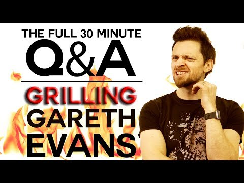 The Full 30 Minutes of Questions with Gareth Evans
