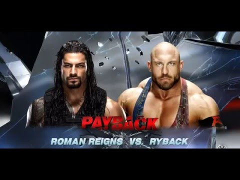 Wwe Play Ryback Vs Roman Reigns