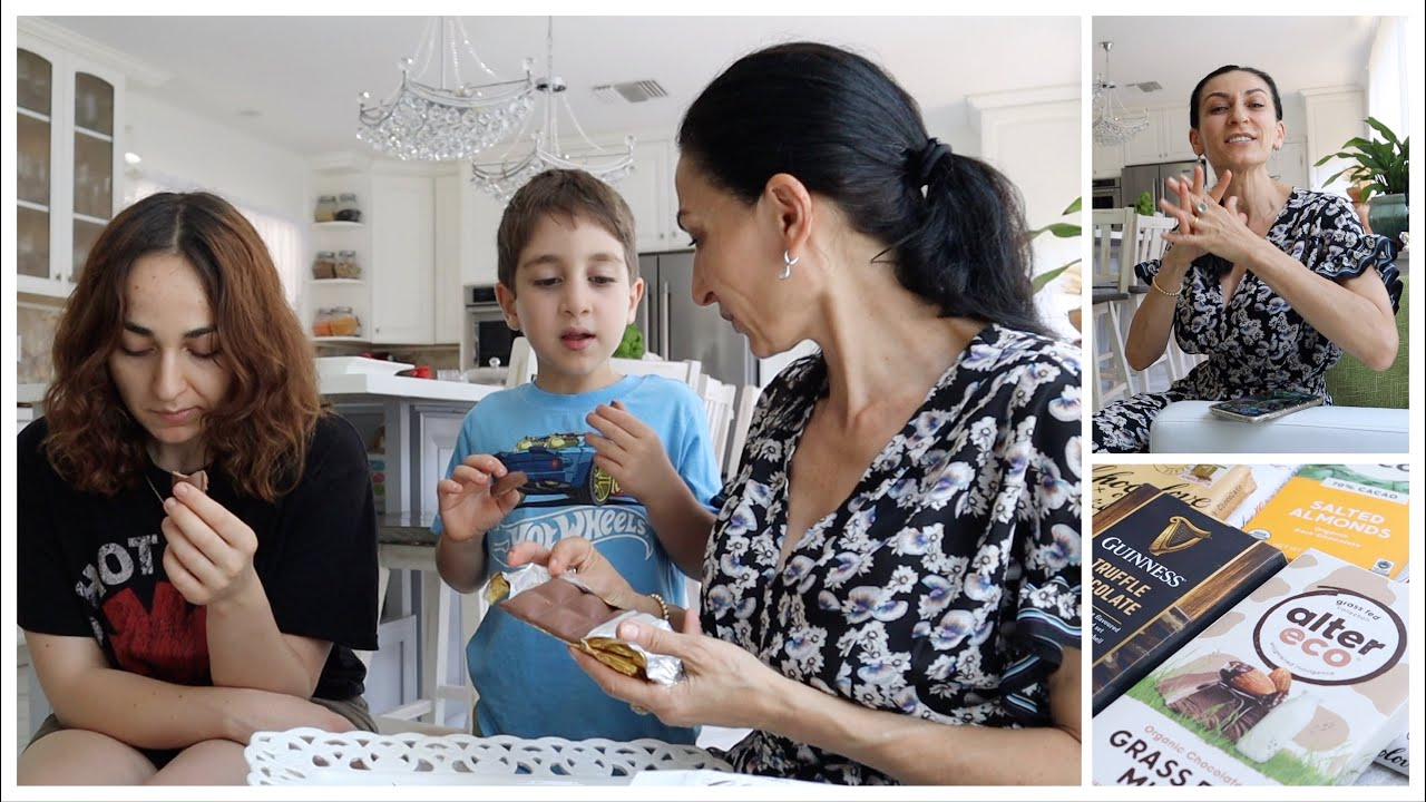 Мучительная Шоколадная Дегустация - Подросток в Форме Ребёнка - Эгине - Семейный Влог - Heghineh