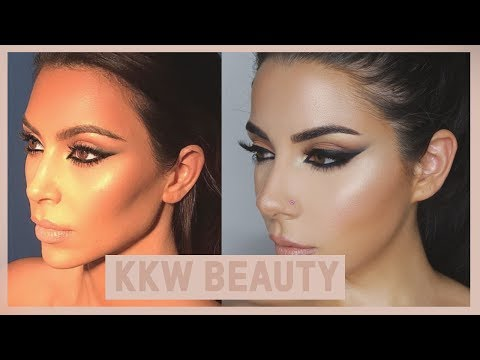 Kim Kardashian West Inspired Makeup Tutorial + KKW Beauty Contour kit Review | TINAKPROMUA