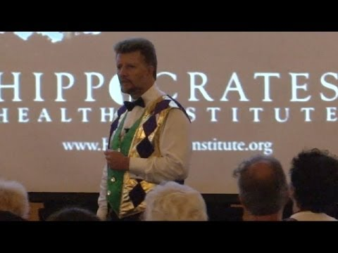 Dr. Brian Clement at Mardi Raw - Hippocrates Health Institute