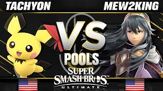 BxA | Tachyon (Pichu) vs. FOX MVG | Mew2King (Lucina/Bowser) - Ultimate Pools - SC United
