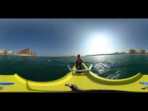 Rowing at Riva Beach
