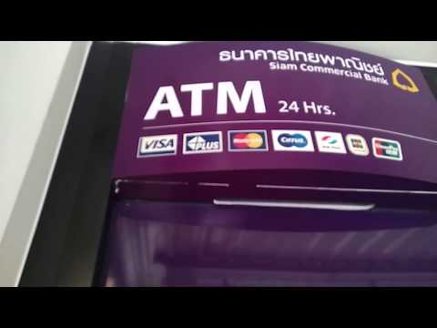 How to use Thai ATM Siam Commercial Bank