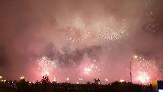Фестиваль фейерверков в москве 17.08.19 команда Канада