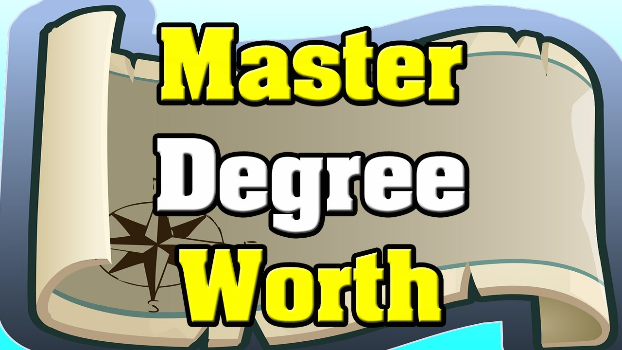 masters degree valuable in  masters degree valuable in 2015