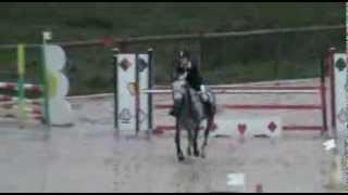 Rom Coco de Boissel et Lisa Cathala Poney Elite GP Lavaur 10 nov 2013