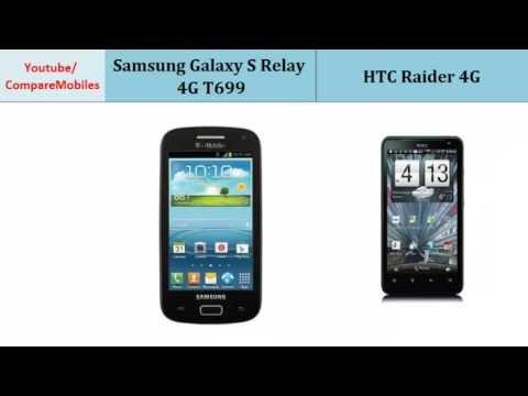 Samsung Galaxy S Relay 4G  - HTC Raider 4G, Quick Full Specs Comparison