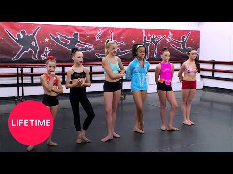 Dance Moms: 45 Second Auditions for Nationals (Season 4 Flashback) | Lifetime