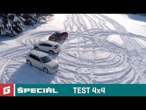 VW TIGUAN - HONDA CR-V - HYUNDAI TUCSON - TEST SUV 4x4 ENG SUB DUNLOP WS5