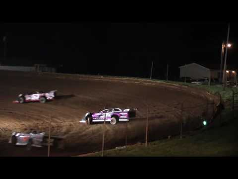 Midway Speedway Late Model Heat Race 10-1-2016
