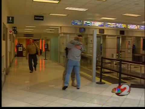 Holiday homecoming at the Dayton International Airport