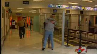 Holiday homecoming at the Dayton International Airport