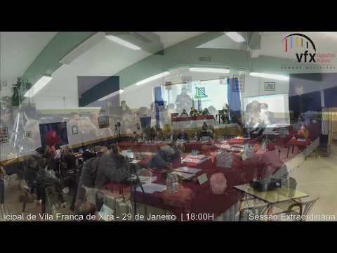Sessão extraordinária da AMVFX (29/01/2019 - Castanheira do Ribatejo)