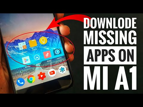Xiaomi Mi A1: Download Missing Apps🔥  File Manager, Mi Calculator, Music player, Gallery, Camera,