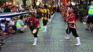 琉球舞団 昇龍祭太鼓 ・モア4番街 ・新宿エイサーまつり 2014 ・2014-0...