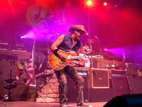 Ted Nugent - Journey to the Center of Your Mind (live)