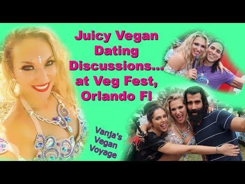 Juicy Vegan Dating Discussions At Veg Fest, Orlando Fl