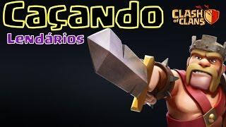 Clash of Clans - Caçando Lendários e Erros do jogo - Push CV10