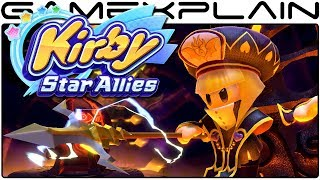 Kirby Star Allies - Fighting the Lightning General & the Great Escape (Gameplay)