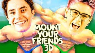 SUBINDO EM CIMA DO MIKE!  - Mount Your Friends 3D